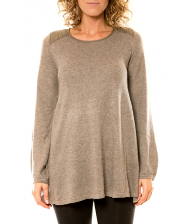Vision de Rêve Pull 12007 Taupe