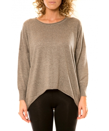 Vision de Rêve Pull 12021 Taupe