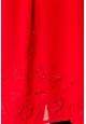 Vision de Rêve Chemisier Col Claudine IP11013 Rouge