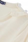 Petit Bateau T-shirt Manches Longues 1062252210 Écru