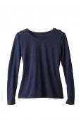 Petit Bateau T-shirt Manches Longues 1062213200 Bleu