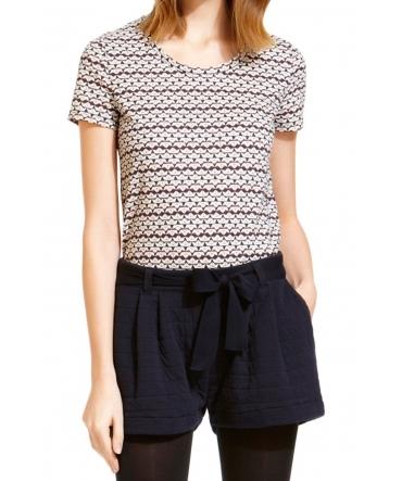 Petit Bateau T-shirt Manches Courtes 1062072210 Blanc
