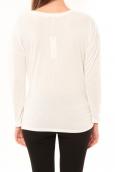 Coquelicot T-shirt CQTW14303 Blanc