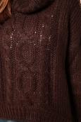 Vero Moda Rubie LS Rollneck Blue 10112720 Marron