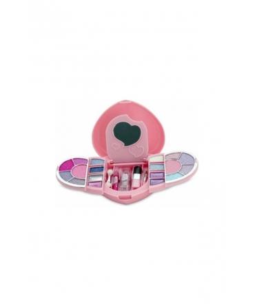 Gloss Cosmetic Palette de maquillage cœur – VIOLETTA – 23 Pièces