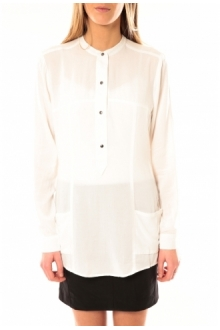 Vero Moda Alec L/S Tunic W/Out Top Pockets 10097849 Blanc