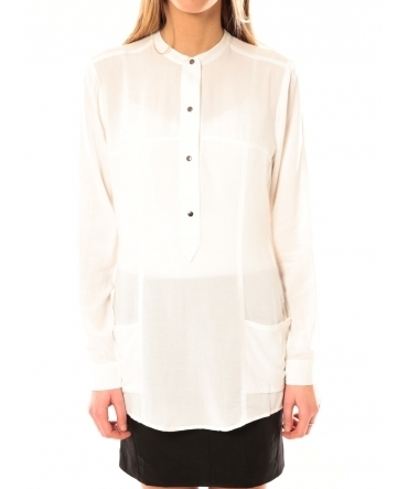 Vero Moda Alec L/S Tunic W/Out Top Pockets 10097849 Blanc