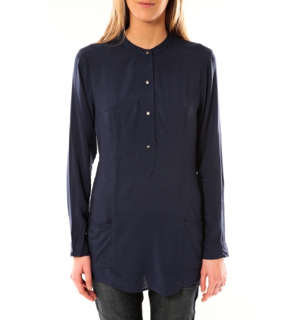 Vero Moda Alec L/S Tunic W/Out Top Pockets 10097849 Bleu