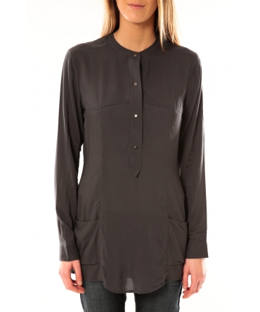 Vero Moda Alec L/S Tunic W/Out Top Pockets 10097849 Asphalte