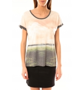 Vero Moda Cloud SS Top 10096122 Mahogany