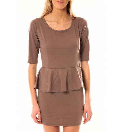 TCQB Robe Moda Fashion Taupe