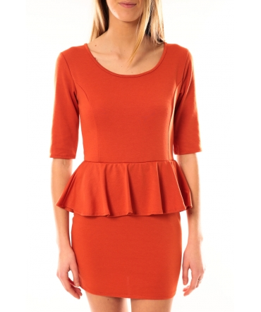TCQB Robe Moda Fashion Orange