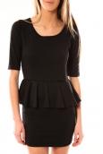 TCQB Robe Moda Fashion Noir
