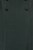 Petit Bateau Robe Femme 3 Boutons en Molleton Fleece Vert