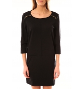 Vero Moda Greg 3/4 Short Dress 10098979 Noir
