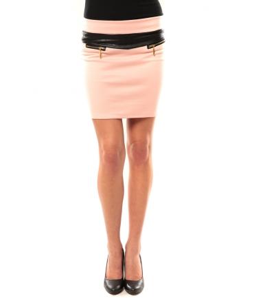Nina Rocca Jupe J.X Fashion Rose