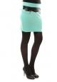 Nina Rocca Jupe J.X Fashion Turquoise