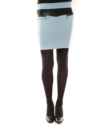 Nina Rocca Jupe J.X Fashion Bleu