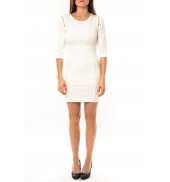 Vera & Lucy Robe Lucce LC-0228 Blanc