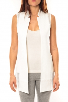 Vera & Lucy Gilet Lucce LC-7012 Blanc