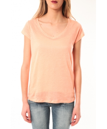 Little Marcel T-Shirt Talin Corail Pastel