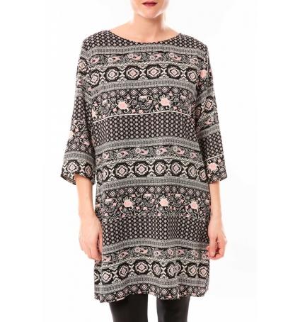 Dress Code Robe Moda H G-0097-40 Noir