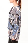 De Fil en Aiguille Robe Love Look B 40 Bleu