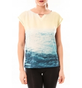 Little Marcel Tee-shirt Trisi E15FTSS0333 Bleu