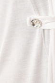 De Fil en Aiguille Gilet Diamantine Blanc