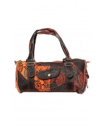Bamboo's Fashion Sac à main Doha GN-146 Orange/Marron
