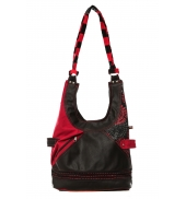 Bamboo's Fashion Sac Besace Amsterdam GN-148 Rouge/Noir