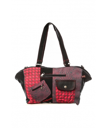 Bamboo's Fashion Sac Tokyo GN-151 Rouge/Gris