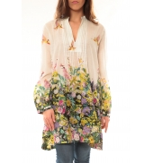 Palme Robe Canarie 49580 Blanc