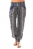 Lara Ethnics Pantalon Kahina Bleu