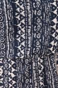 Lara Ethnics Robe Courte Hassina Bleu