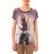 By La Vitrine Tee-shirt MC1497 Noir