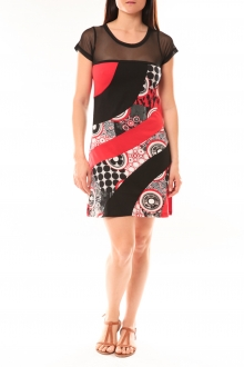 Bamboo's Fashion Robe BA1515 Rouge