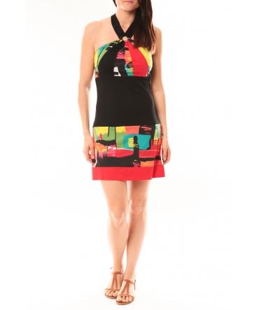 Bamboo's Fashion Robe BA1517 Rouge