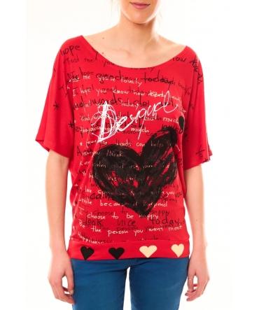 T-shirt TS_Nadine 51T24R8 Rouge