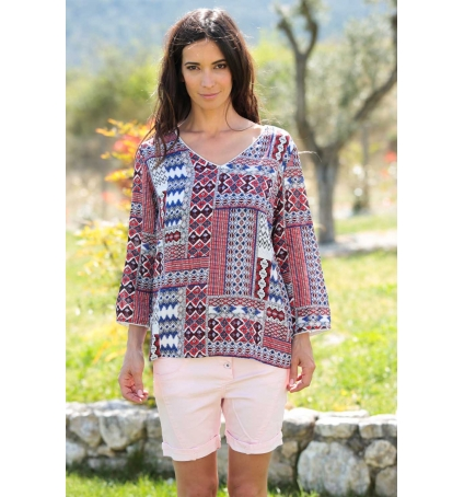 Dress Code Tunique Moda H G-0096-31 Rouge