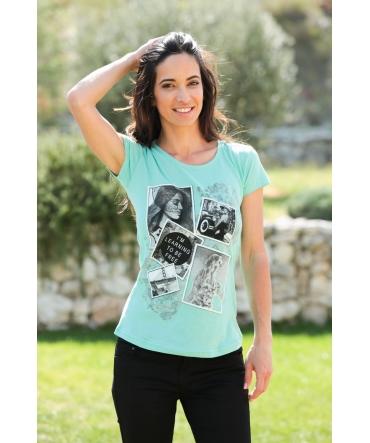 TCQB T-Shirt NAD Photo Vert d'eau