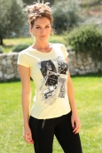 TCQB T-Shirt NAD Photo Jaune
