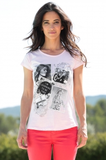 TCQB T-Shirt NAD Photo Rose