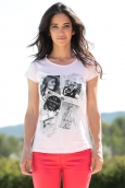 TCQB T-Shirt NAD Photo Rose