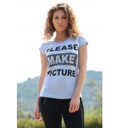 TCQB T-Shirt NAD Please Rose