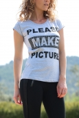 TCQB T-Shirt NAD Please Gris