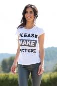TCQB T-Shirt NAD Please Blanc