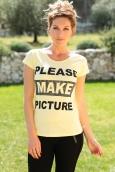 TCQB T-Shirt NAD Please Jaune