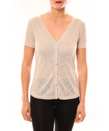 Meisïe Top 50-608SP14 Beige