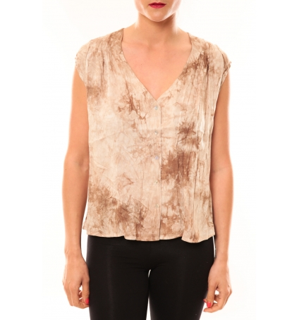 Meisïe Top 50-504SP15 Beige